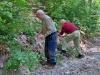Auch Peter und Hans auf der Suche im Lierbachtal