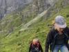 Manu Filliger und Kurt Kost im steilen Aufstieg
