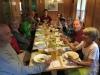 Zur Stärkung die wohl verdiente heisse Suppe im Berggasthaus Beverin