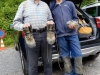Bruno und Yannis vor der Heimfahrt
